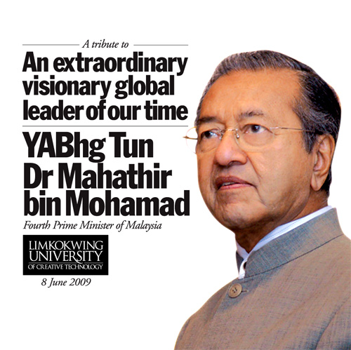 essay about tun dr mahathir Mahathir mohamad is the longest ruling prime minister of malaysia and a politician known for his progressive policies to know more about his childhood, career, profile and timeline read on.