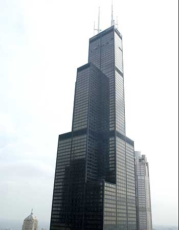 Current top 10 world tallest buildings 2010 my blog for 103 floor skyscraper the sears tower in chicago