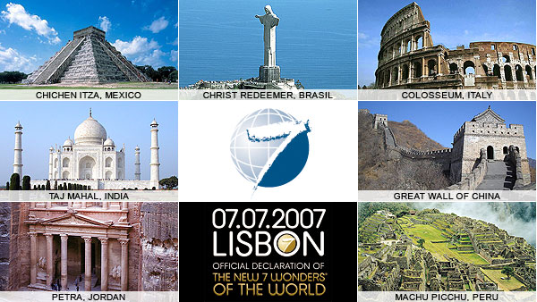 New7Wonders Foundation's Seven Wonders of the World | My Blog City ...