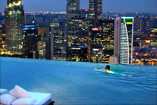 Insight marina bay sands singapore my blog city by - New york hotels with rooftop swimming pools ...