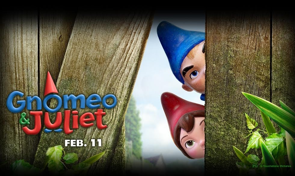 Movie Review Gnomeo And Juliet 2011 Vincent Loy S Online Journal