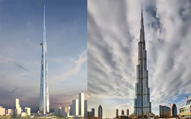 Insight: Kingdom Tower (to be the world tallest when ...  Insight: Kingdo...