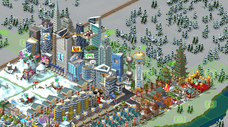 My City!…oh, I mean my city from cityville game | Vincent