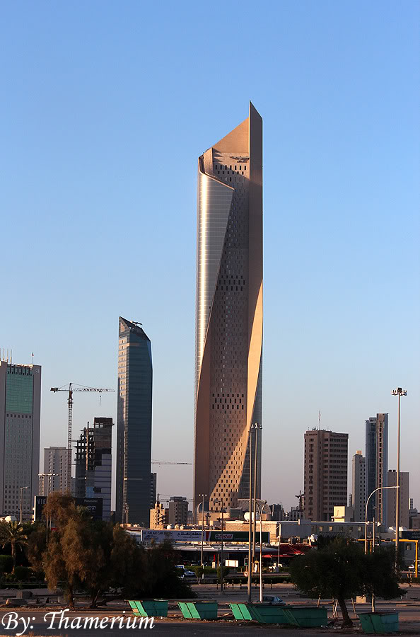 Top Architecture Buildings In The World al-hamra tower, another skyscraper added to the list of top 10