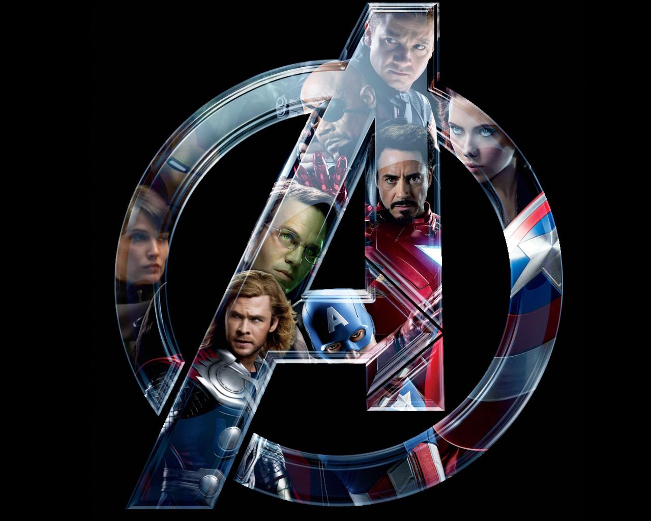 Avengers Logo iPhone Wallpaper