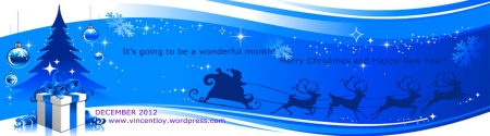 december 2012 blog header