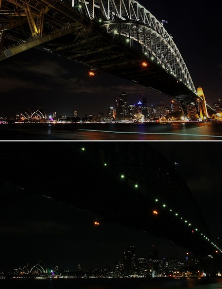 Sydney Goes Dark For Earth Hour