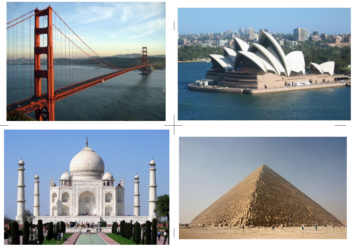 Famous landmarks around the world list for Famous monuments around the world