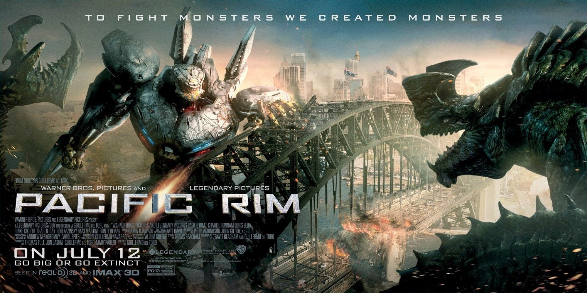Movie review: Pacific Rim (2013) | My Blog City by Vincent Loy Pacific Rim 2013