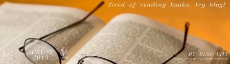 August 2013 blog header