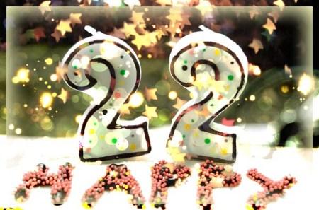 My 22nd Birthday