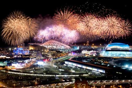 APTOPIX Sochi Olympics Closing Ceremony