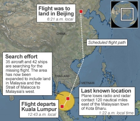flight-mh370-flight-path
