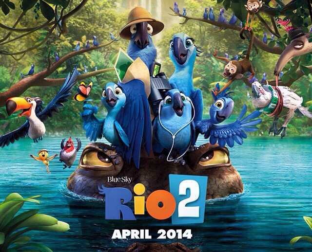 Movie Review Rio 2 2014 Vincent Loy S Online Journal