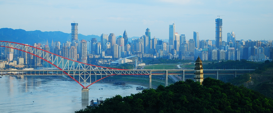 Chongqing China  city photos : Chongqing skyline China 333TRAVEL