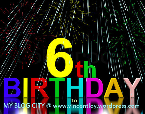 Sixth Or 6th Birthday Celebrated With Fireworks Display
