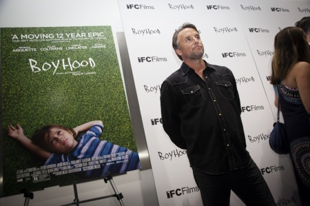 "Richard Linklater at the premiere of ""Boyhood,"" a Linklater film, at the Museum of Modern Art in New York."