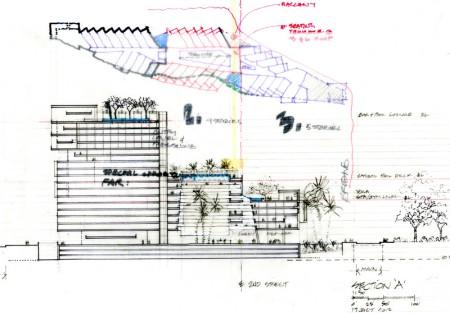 SantaMonica-Hotel-concept-sketch