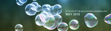 May 2016 Blog Header