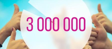3-million-users