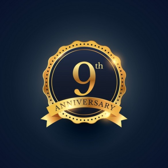 Today marks the 9th anniversary of my blog! | Vincent Loy's Online Journal