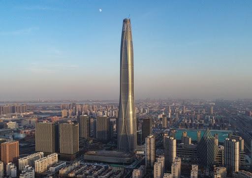 30+ Tianjin Ctf Finance Centre  Gif